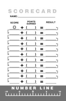 Moderation Score Pad